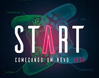 START: Começando um novo jogo.
