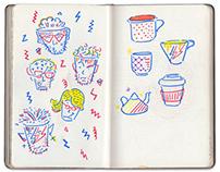 Sketch book mini 2015 - 2017