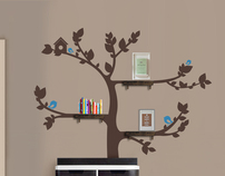 Tree With Shelves £59.99