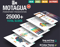 Free business powerpoint template on behance motagua multipurpose powerpoint template toneelgroepblik Gallery