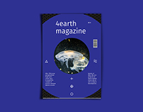 4earth Magazine Template