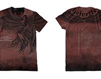 Helvette Theory - Artwork For Tshirt