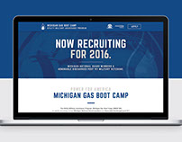 Michigan Gas Boot Camp Microsite
