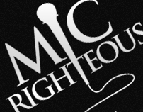 Mic Righteous - Identity & Logo Design