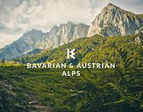 Bavarian & Austrian Alps