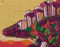 Spray Paint Murals