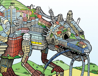 'Lots Of Stuff' Digital illustrations