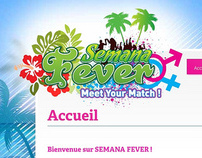 Semana Fever Website