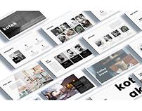 kotak Interior Design Keynote Template