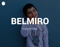 Belmiro - Kids Store // Branding | E-commerce Website
