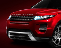 Land Rover Evoque launch