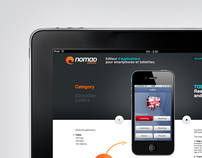 NOMAD EDITIONS - Web Design and UI Design
