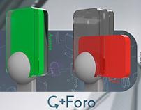 C+Foro // Semáforo de bicisenda concept