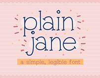 Plain Jane Font