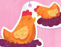 Chicken bonding
