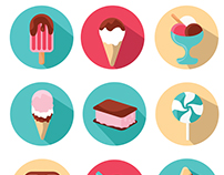 Sweet Delicious Icons VERSION 2 (UPDATED)