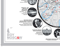 1969 MOSCOW U.S.S.R THE COLD WAR