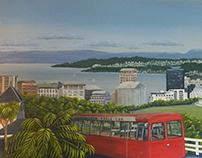 OVERLOOKING WELLINGTON, NEW ZEALAND