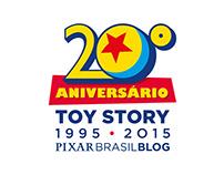 Toy Story 20 anos - Pixar Brasil Blog
