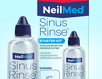 NeilMed Sinus Rinse Rebranding Concept