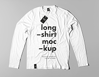 Long Shirt Mock-up