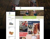 Little Feet Responsive Website