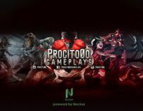 Banner de Youtube - Procito0o Gameplays