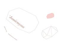 jamiemyass pink gem   名片設計