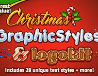 Christmas Graphic Styles & Logokit