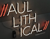 Aullithical Neon Sign EP Artwork