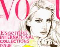 Lana Del Rey Vogue UK Cover