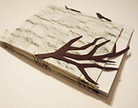 The tree of secrets - handmade book