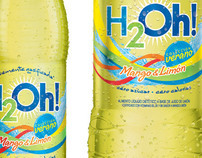 Product Visualization: H20h! Mango & Lemon