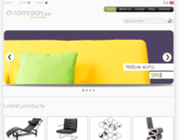E-commerce layout
