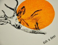 Oh Deer Prints