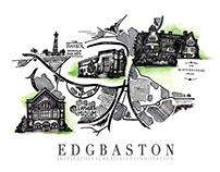 ART MAP OF EDGBASTON