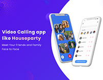 Video Calling App like Houseparty