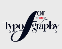 For The Love of Typography by Moshik Nadav