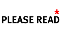 FREE - PLEASE READ T&C's