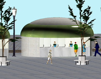 Food kiosks for London Olympics 2012