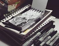 Mini-sketchbook 2015, part 1