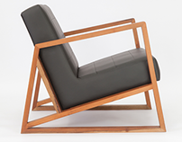 """Avante"" Armchair by Estúdio Cipó"
