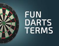 Fun Darts Terms | Darts 3d Animation