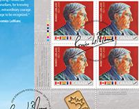 Roméo LeBlanc Stamp
