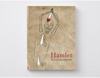 'Hamlet' Book Cover Design