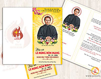 Thiệp mời mừng Bổn Mạng Thánh Don Bosco