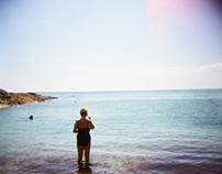 Oh I do like to be beside the seaside ( ♥ Holga )