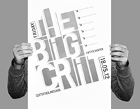The Big Crit Poster - Competition