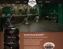 barbershop web-design