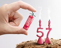 ACHS / Email 57 aniversario